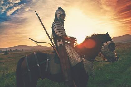 馬に乗る戦士