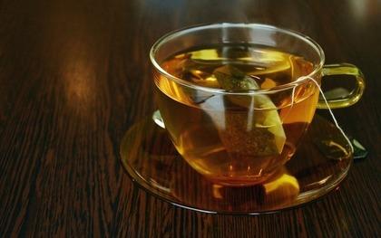 温かいセンブリ茶