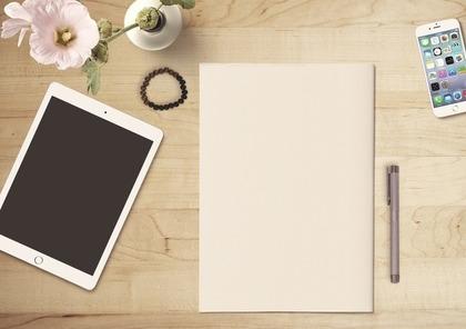 iPadと筆記具