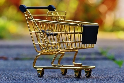 買い物のカゴ