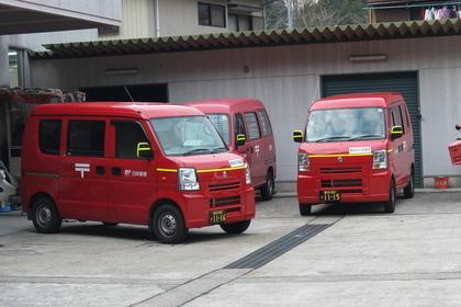 日本郵便の車