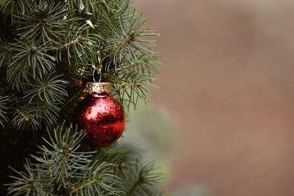 クリスマスの赤い玉