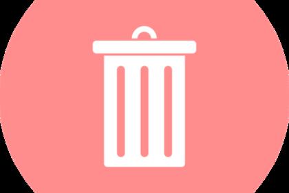 ゴミ箱記号