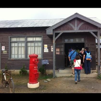 昔ながらの郵便局