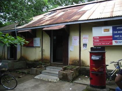 昭和の雰囲気の郵便局