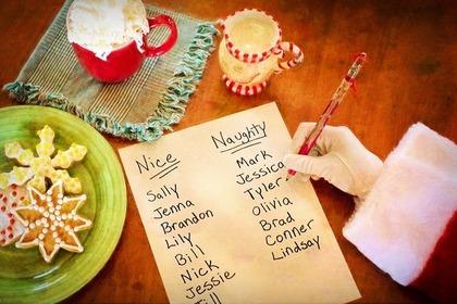 手書きのリスト