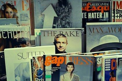 様々なタイトルの雑誌
