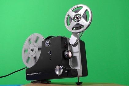 映画を映す機械