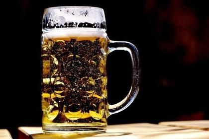 冷たいビール