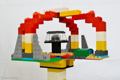 レゴブロックで作られた作品