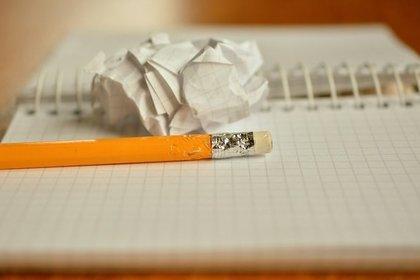 アイディアを書く人