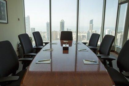 広い会議室