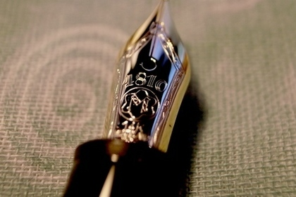 細工がきれいな万年筆