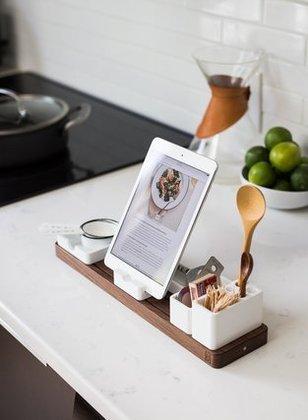 レシピとしてタブレットを活用