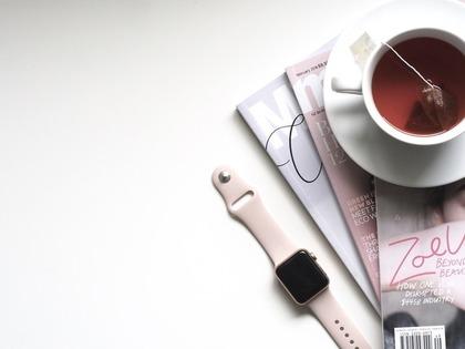 紅茶とAppleWatch