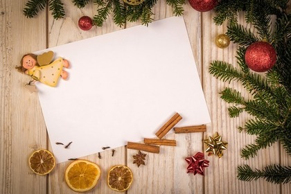 手紙とドライフルーツ