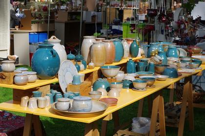 沢山の陶器