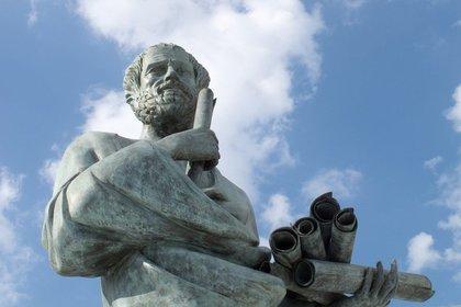 ソクラテスの像