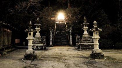 静かな神社