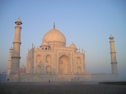 インドの白い王宮
