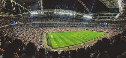 超満員のサッカースタジアム