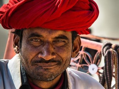 インド人の男性