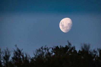 月が見える場所