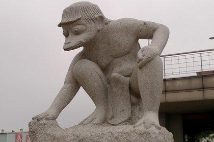河童の銅像