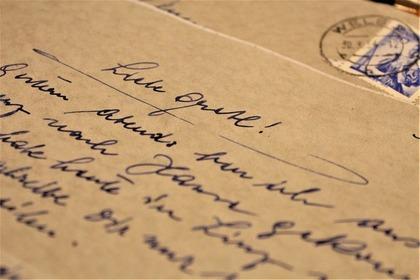 英語で書かれた手紙