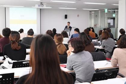 講義中の大学の風景