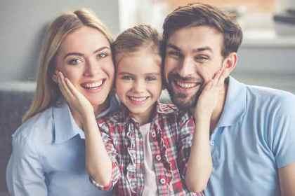 仲良し3人家族