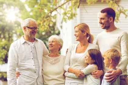 おじいさんたちと家族
