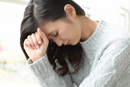 挫折を経験した女性