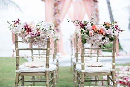 結婚式のイス