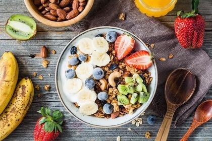 朝食にもピッタリのシリアル
