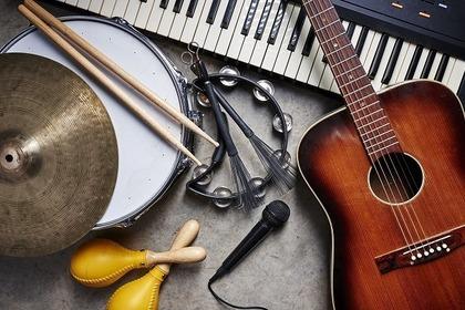 楽器が沢山ある