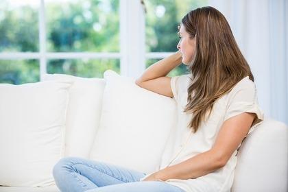 孤独を感じている女性