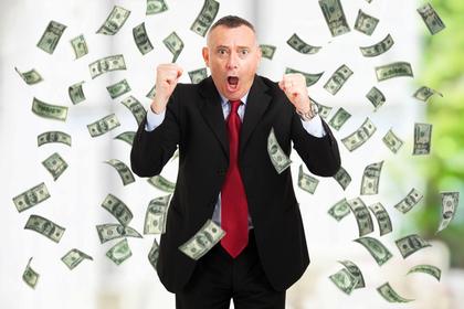 年配男性とお金