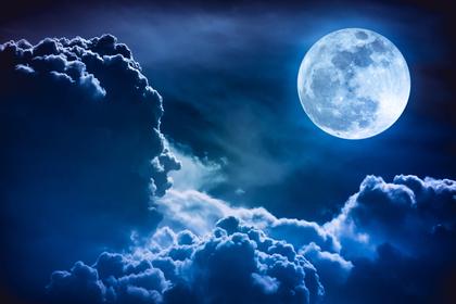 月夜の風景