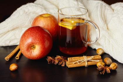 りんごと紅茶