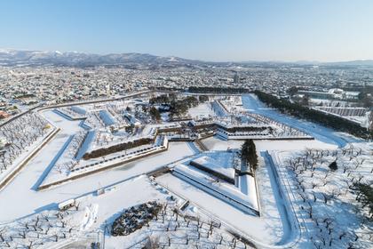 冬の五稜郭