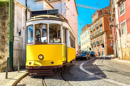 黄色の電車