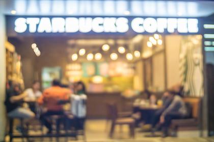 スターバックスコーヒーでティータイム