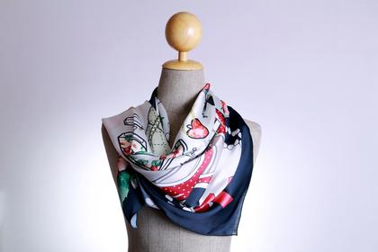高級スカーフ