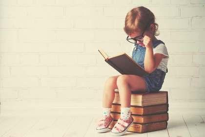 本を読む子