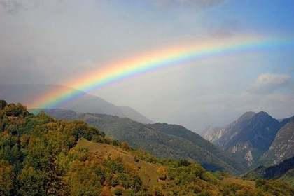 虹に祈りを込めて