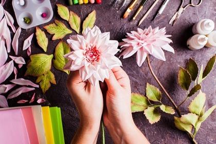芸術的な花