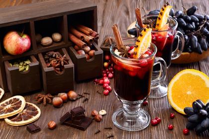 ワインと果物