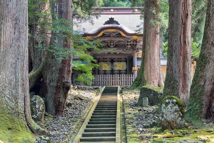 神秘的な神社