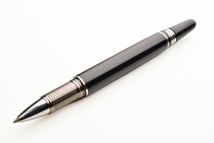 このペンで手紙を書く